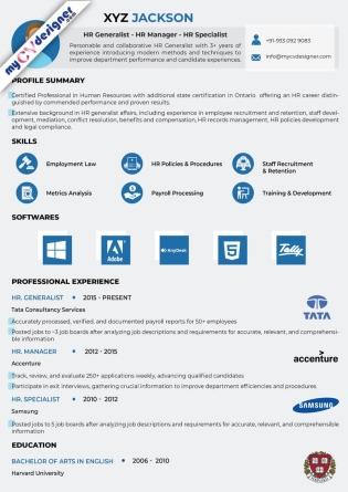 Visual CV (MCDV0027)
