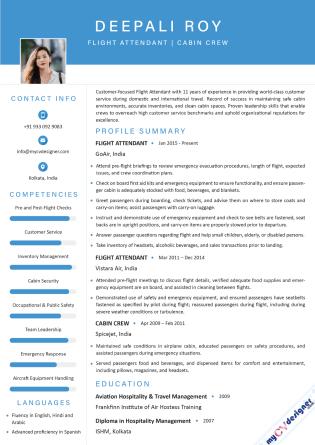 Visual CV (MCDV0012)