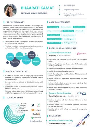 Infographic CV (MCDI0017)