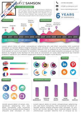 Infographic CV (MCDI0003)