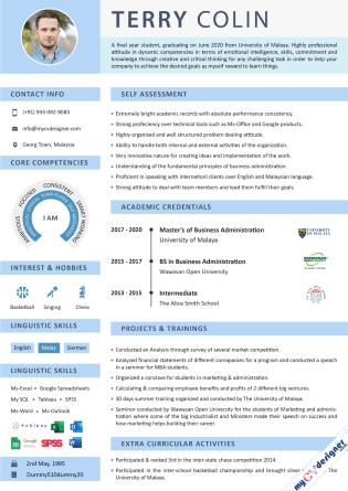 Visual CV (MCDV0042)