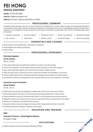 Text CV (MCDT0012)