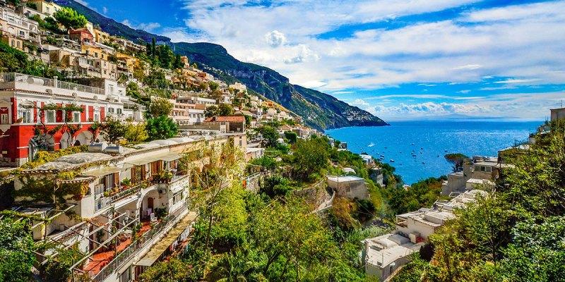 mediterranean amalfi coast