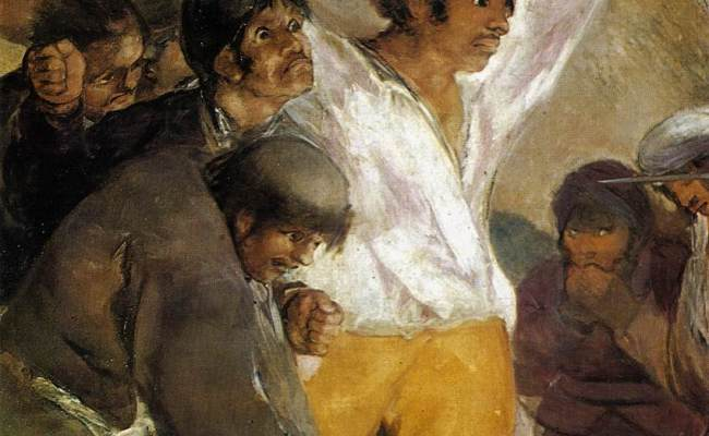 The Third Of May 1808 By Goya My Daily Art Display
