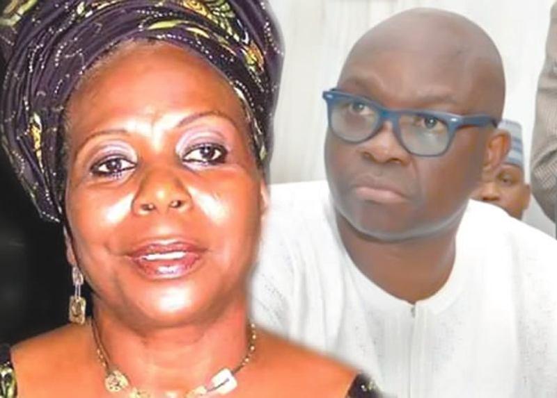 Ayodele Fayose and Biodun Olujimi
