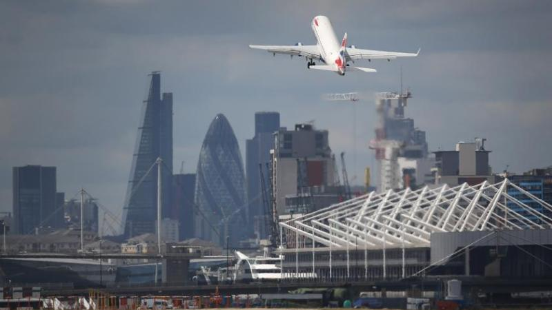 London City Airport Reopens as UK Restarts Economy