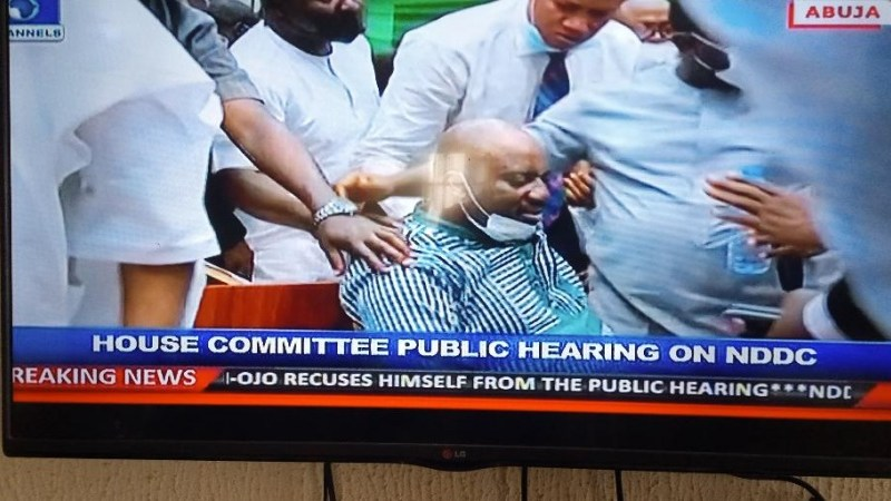 BREAKING: NDDC Acting MD Faints During House of Reps Public Hearing