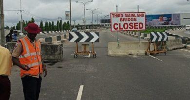 3rd Mainland Bridge blockage