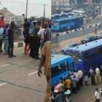 BRT Crushes Motorcyclist Passenger To Death