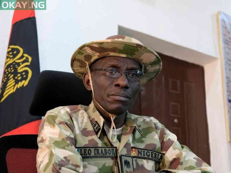 Chief of Defence Staff Major General Leo Irabor
