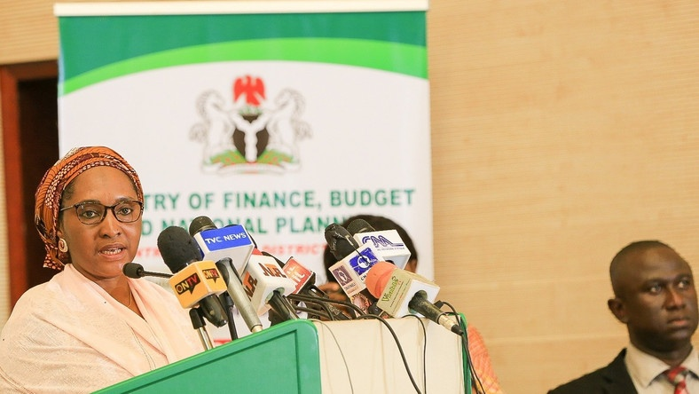 Minister of Finance Budget and National Planning Mrs Zainab Ahmed