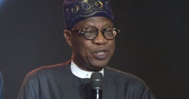 Minister of Information and Culture Lai Mohammed