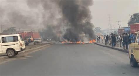 One Killed As Police Okada Riders Clash In Lagos