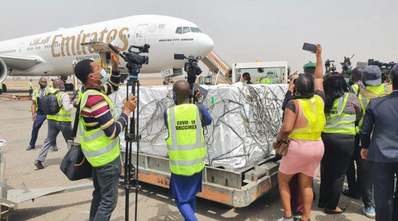 COVID19 Vaccine arrives Nigeriai