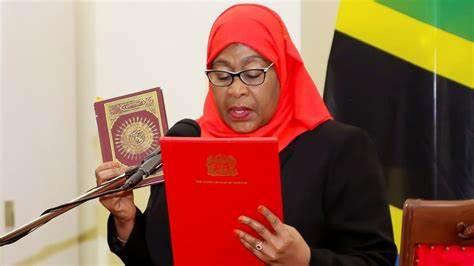 Samia Hassan sworn in as Tanzanias president