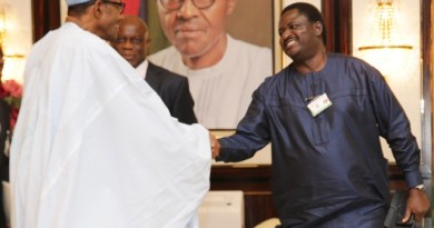 Femi Adesina to Buhari haters repent in ashes and sackcloth