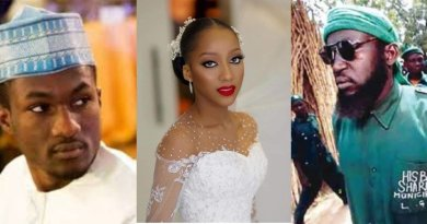 Where is Hisbah Tweeps react to Yusuf Buharis fiancees bridal gown 2