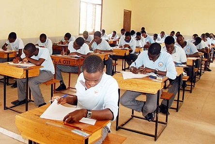 Students At An Exam Hall
