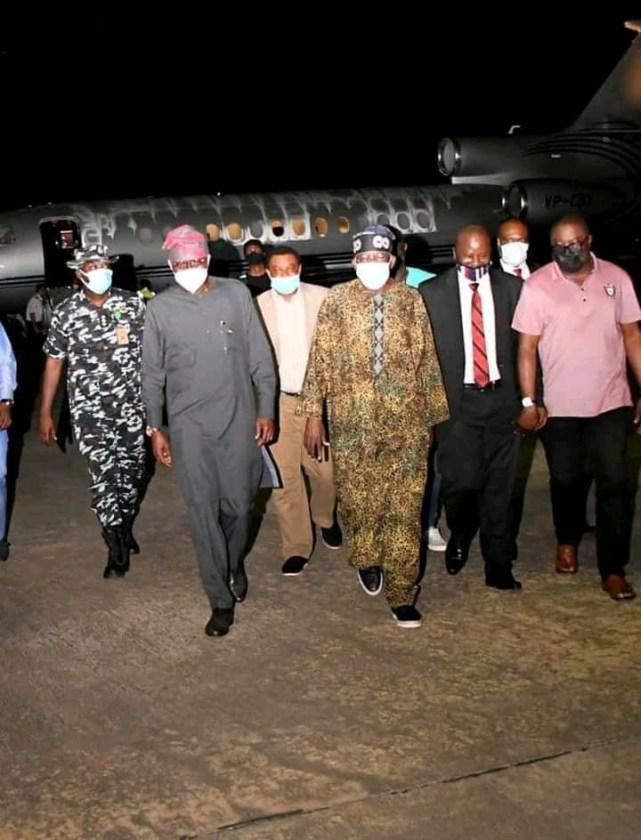 PHOTO NEWS: Jagaban Tinubu Is Back