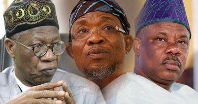 Amosun, Aregbesola, Lai May Lose Out, As party Set To Back Governors Over APC Parallel Congresses
