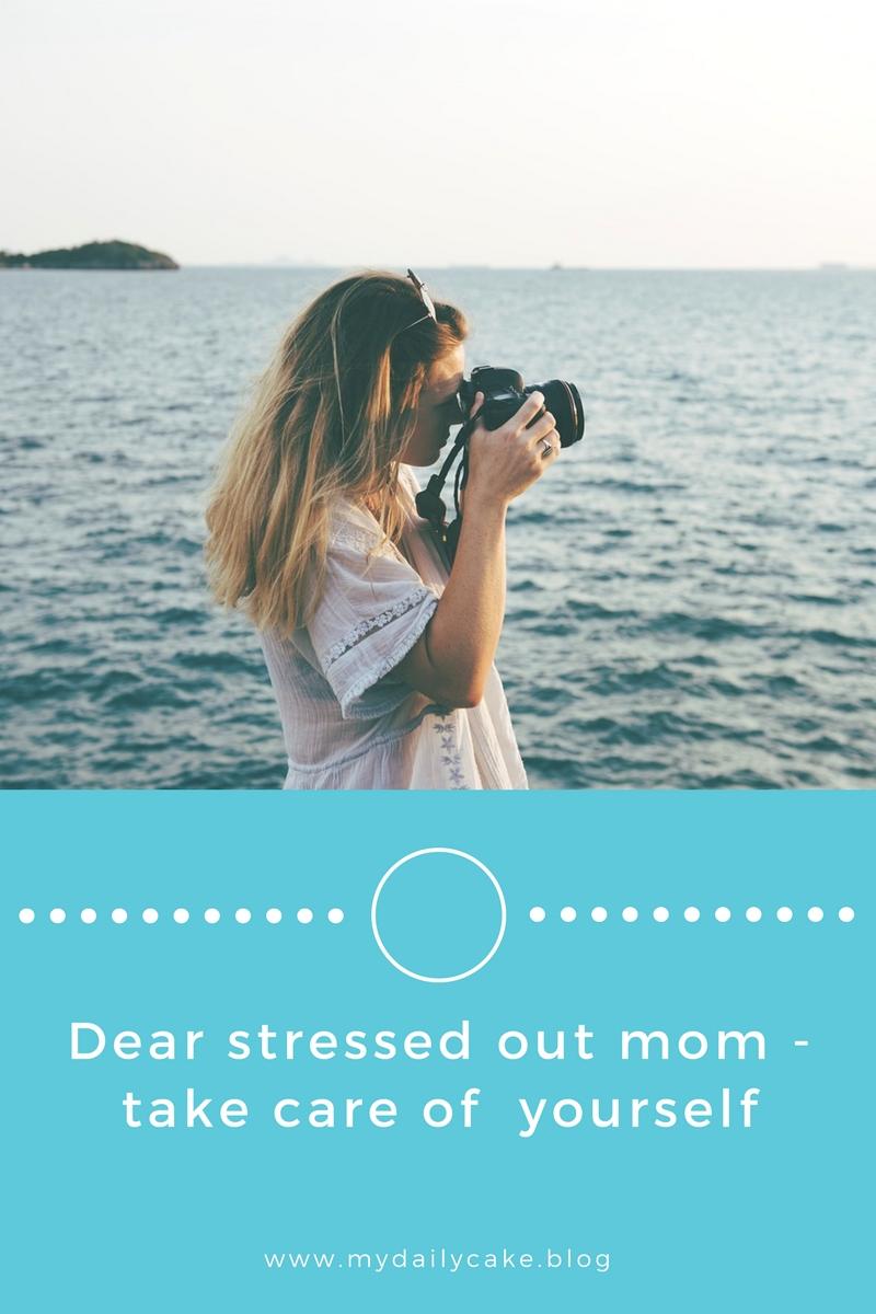 Woman calm at sea