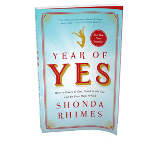 shonda rhimes year of yes