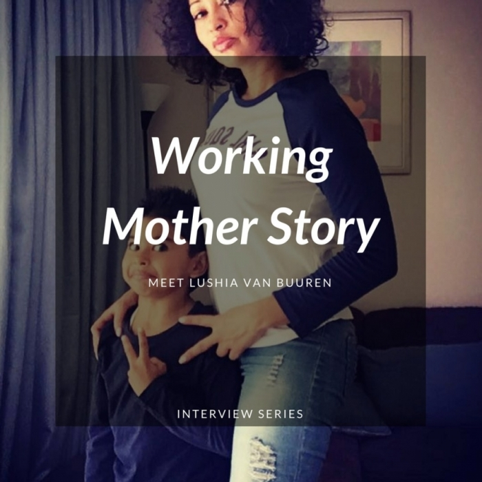 working mother interview lushia
