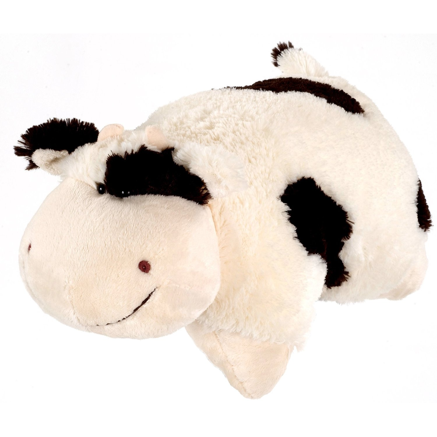 Check out the cow logo on My Pillow Pets pillows  Every