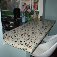 Recycled Glass Kitchen Countertops Ashley Furniture Table And Chairs Diy - My Daily Magazine Art ...