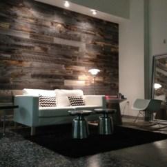 Wood Wall Living Room Floor Lights Diy Reclaimed Panels My Daily Magazine Art