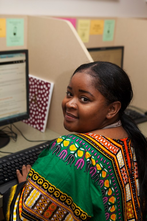 Larisheka is finishing her Associate of Art Degree in Liberal Arts and wants to be a social worker.
