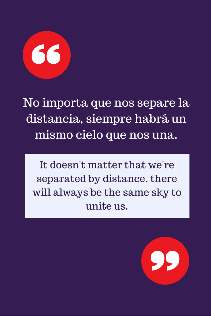 Long Distance Love Quotes In Spanish : distance, quotes, spanish, Beautiful, Spanish, Quotes, Heart