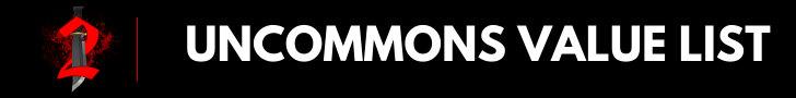 Uncommons value list