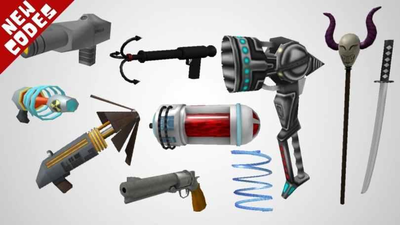 Roblox gear codes list