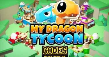 My Dragon Tycoon codes
