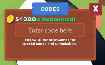 Roblox Tree Planting Simulator Codes