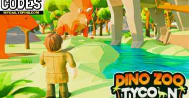 Roblox Dinosaur Zoo Tycoon Codes list