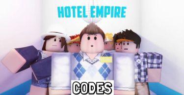 Roblox Hotel Empire Codes list