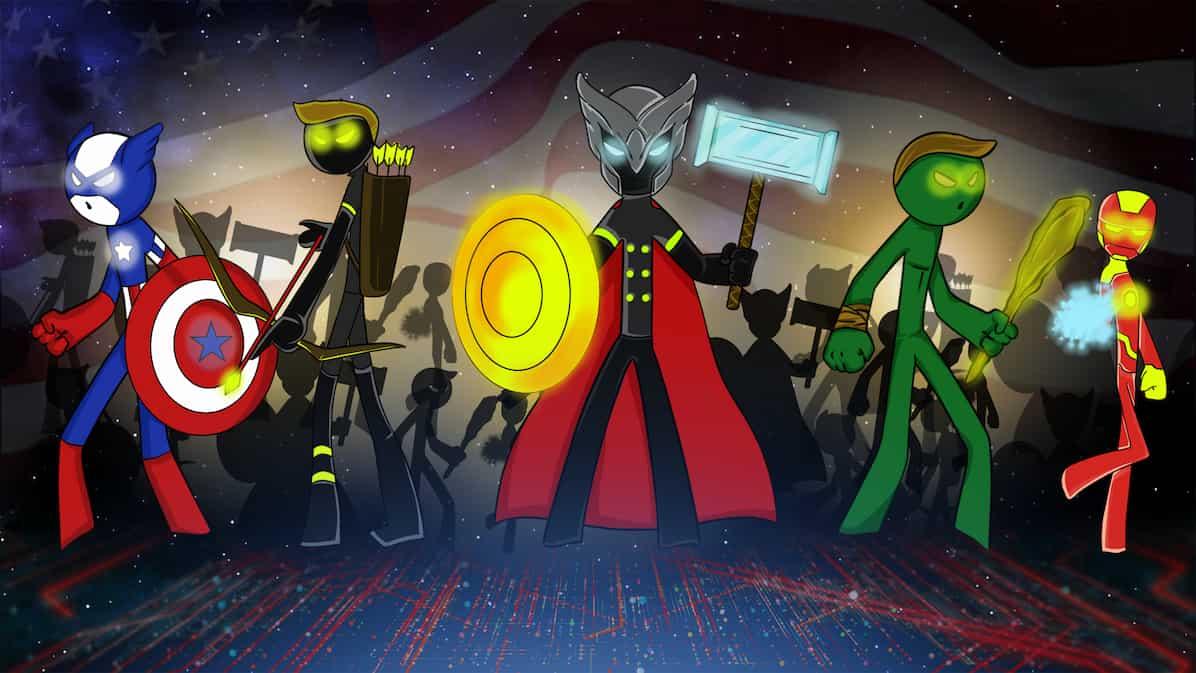 stickman heros