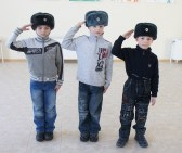 Orphans on Veteran's Day