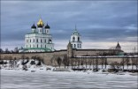 Pskov Kremlin in Winter
