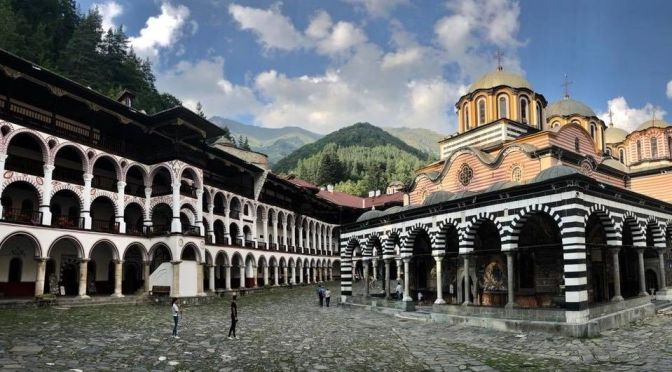 Bible League and Rila Monastery