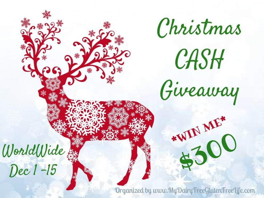 $300 Christmas Cash Giveaway