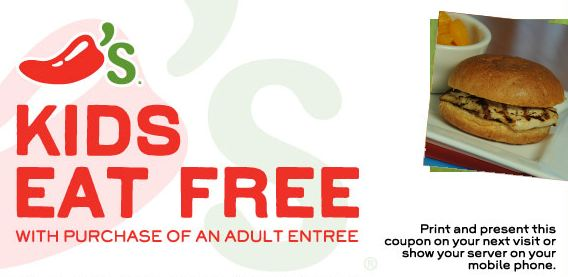 chilis kids eat free - Kids Images Free