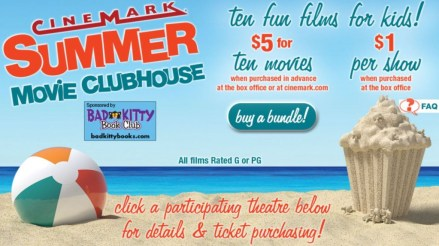 Cinemark Theaters - 10 Kids' Movies For $5 w/ Advance Purchase This