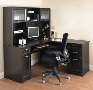 Merveilleux Go Over To OfficeDepot U0026 OfficeMax To Get The Realspace Magellan Collection  L Shaped Desk (available In Espresso, Honey Maple, Or Classic Cherry) On  Sale ...