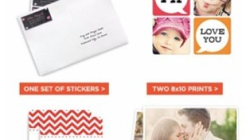 Shutterfly – TWO Free Prints, Placemats, Luggage Tags or