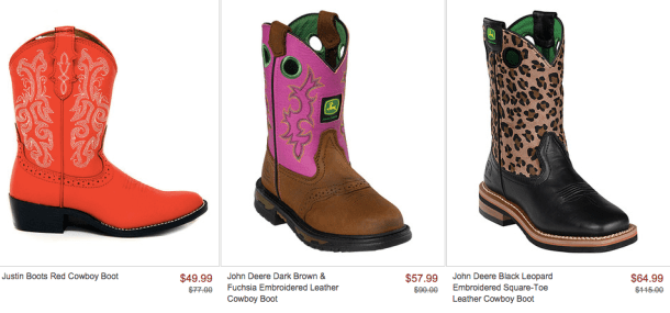 4564d08e56b Kids Cowboy Boots Starting at $18 - My DFW Mommy