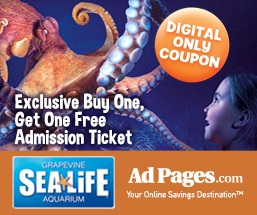 sea life coupon buy one get one free offer. Black Bedroom Furniture Sets. Home Design Ideas