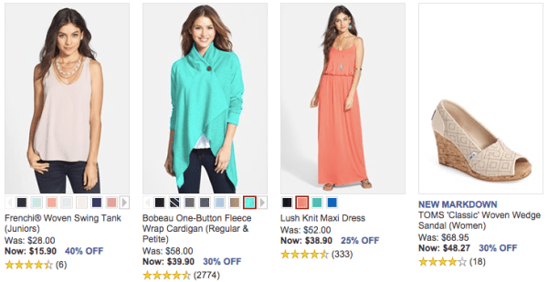 2aa227c2cd88 Nordstrom Half-Yearly Clearance Sale – Up to 40% off, Plus FREE Shipping